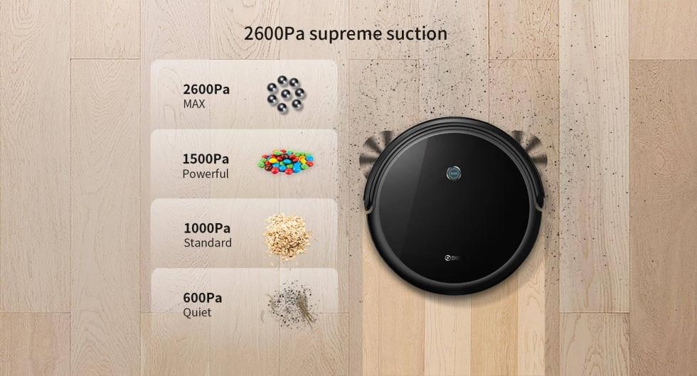 360 C50 suction power.